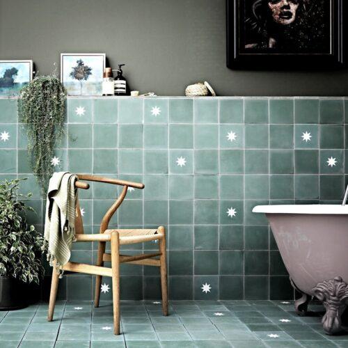 Cement fliser til vægge