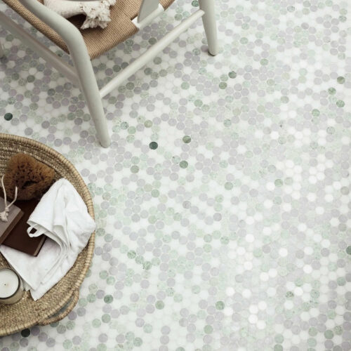 Mosaikfliser til gulve