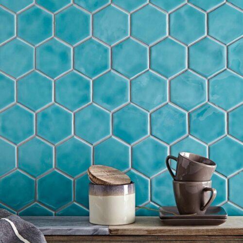 Hexagon fliser til vægge